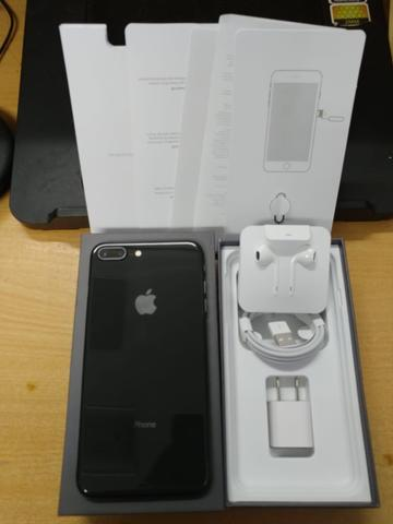iPhone 8 Plus 64GB Space Gray Super Mulus poll Garansi inter fullset Original