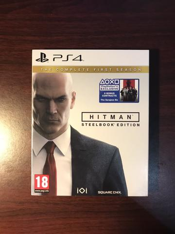 HITMAN Steelbook Edition The complete first season