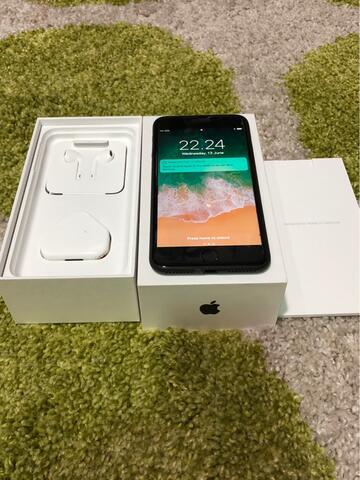 iPhone 7 Plus Black Matte 128gb Like New