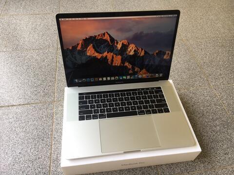 Macbook Pro Retina Touchbar 2016 Silver MLW82 Core i7 Ssd 512gb Touch Bar MLH42
