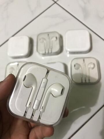 Earphone Headset Iphone ori cabutan Apple ibox bukan oem