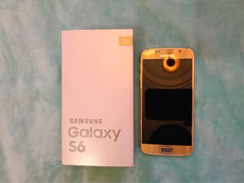 Samsung S6 Gold Flat Fullset!