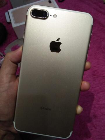 iphone 7+ gold 256GB mulus
