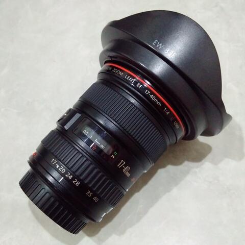 [CAKIM] WTS lensa Canon EF 17-40mm F4 L USM kode UY mulus bonus filter