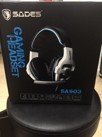 HEADSET Sades SA 903 7.1surround sound! (USB)