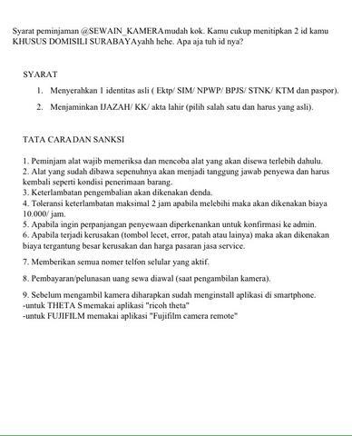 sewa/ rental kamera dslr canon 60D Surabaya bkn nikon fujifilm gopro sony
