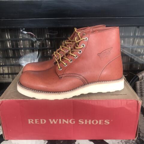Red Wing Boots 8166 Plain Toe BNIB (not docmart, sagara, chevalier)