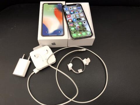 iPhone X 256gb iBox baru mingguan pake Silver White Putih mulus Bandung Bdg  Indonesia