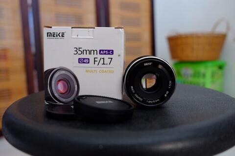 Lensa Meike 35mm F1.7 Untk Fujifilm