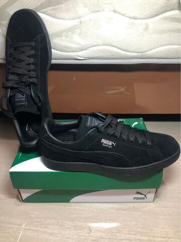 Terjual PUMA SUEDE BLACK SHADOW ORIGINAL size 44  0d642334bd
