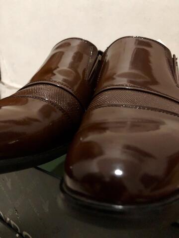 Terjual sepatu pantofel playboy brown original  cd786f7bf3