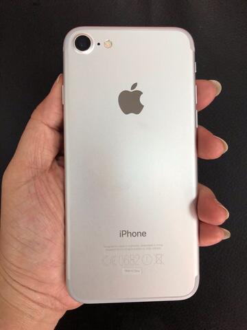 Iphone 7 256 GB Silver garansi RESMI INDO BNOB Buka 2 MINGGU perfect RARE BU MALANG