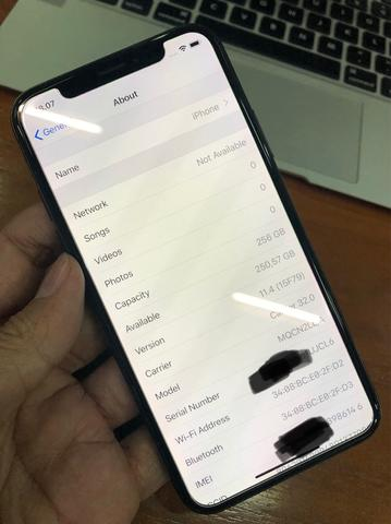 Iphone X 256Gb Space Gray murah bisa TT