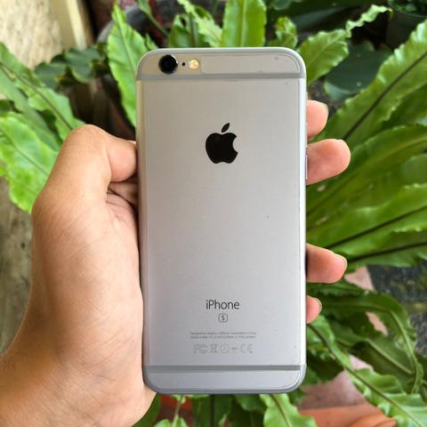 FS IPHONE 6S SPACE GRAY 64GB 98% MULUS, EX INTERNATIONAL APPLE SPORE