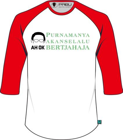kaos ahok glow in the dark