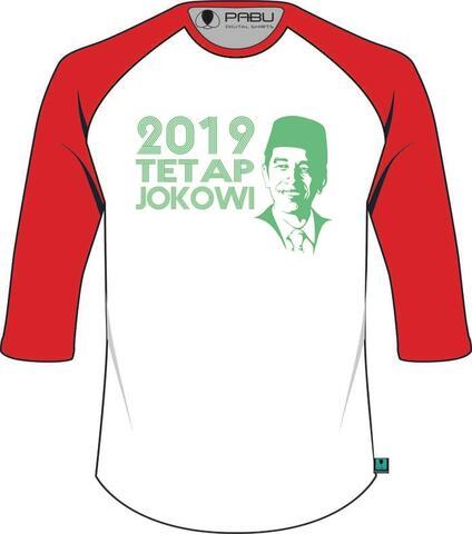 Kaos 2019 tetap jokowi versi songkok