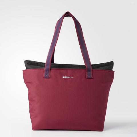Adidas Neo Daily Girl Tote Bag Mystery Red Original