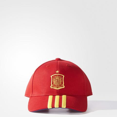 Adidas Football Spain FEF 3 Stripes Cap Red Original