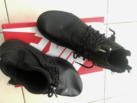 Sepatu Nike Air Presto Mid Utility Full Black no 43