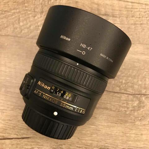 CSZ - Nikon Afs 50mm F1.8 G