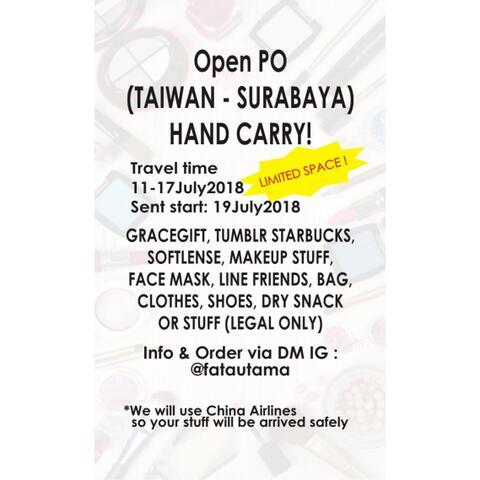 Open PO Taiwan