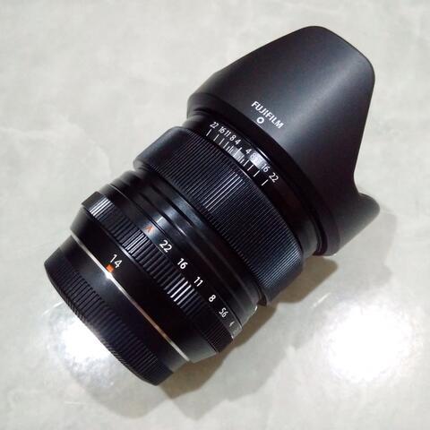 [CAKIM] WTS lensa Fuji Fujinon XF 14mm F2.8 R like new