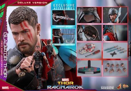 Hot Toys Thor Ragnarok Gladiator Thor