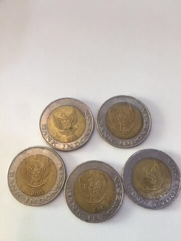 uang logam 1000 asli
