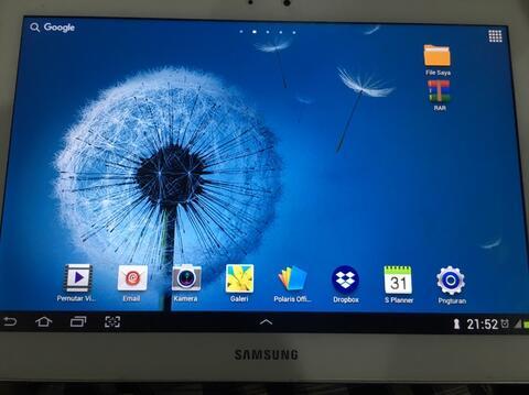 Samsung Galaxy Tab 2 10.1 GT-P5100 White 16GB