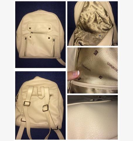Elizabeth Cream Backpack