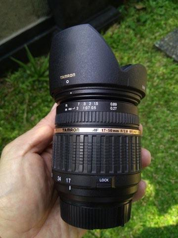 Tamron SP 17-50mm f/2.8 Di II LD Aspherical [IF] NON VC for Nikon (Built in Motor)