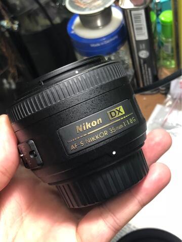 Nikon 35mm f/1.8G AF-S DX Mint Condition Like New (Eks Grs Alta)