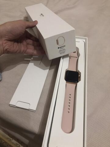 apple watch series 3 38mm pink sand januari 2019 malang