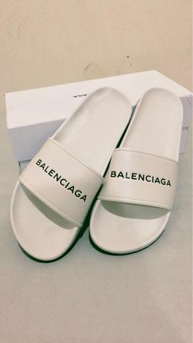 BALENCIAGA PRISCINE WHITE SANDAL KUALITAS MIRROR/GRADE AUTHENTIC