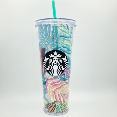Starbucks Tumbler Flower Summer - Venti Straw - Colorfull