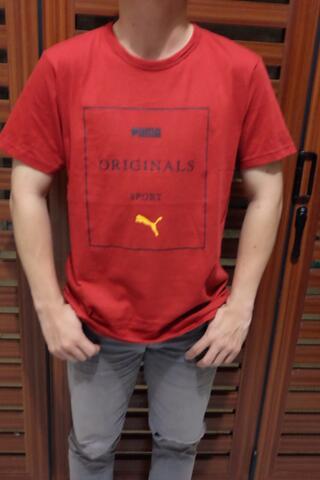 T-Shirt Puma Sport Bahan Cotton