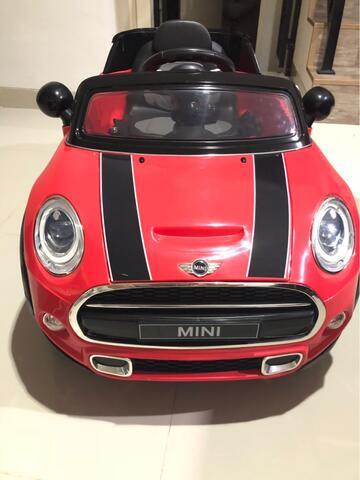 jual mobil Aki mini cooper / mainan Anak