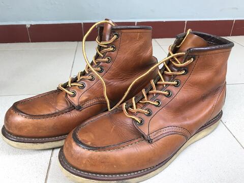 Sepatu Red wing 875 Ori size 42