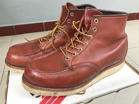 Sepatu Boots Redwing 8131 size 42/43 ori