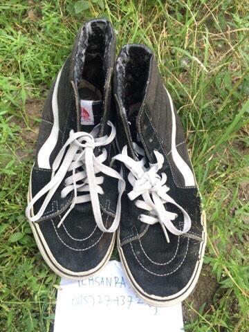Vans Sk8 Hi Black White Original