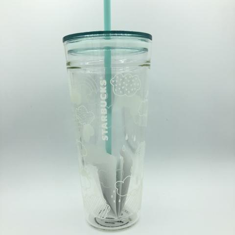 Starbucks Tumbler Glass Cloud Sunshine - Venti