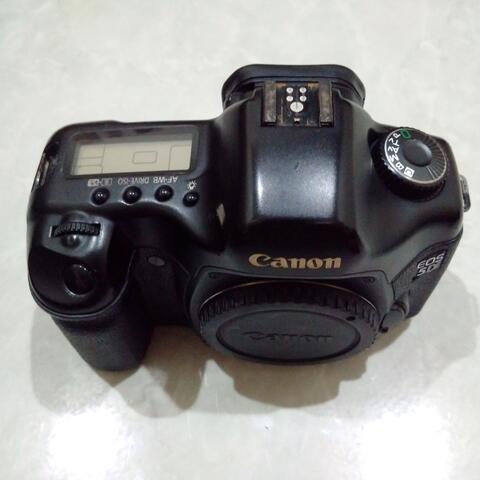 [CAKIM] WTS Canon EOS 5D Classic body only bonus memory dan baterai