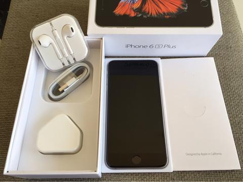 iphone 6s plus grey 64gb murah malang