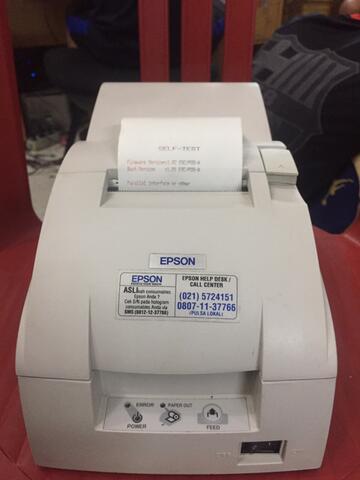 Printer Epson Tmu220a Auto Cutter
