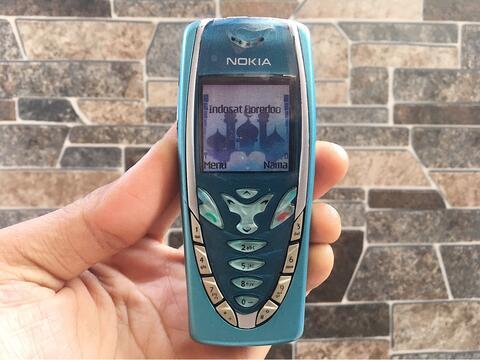 Nokia 7210 Biru Normal Hp Jadul Klasik Antik Handphone Nostalgia