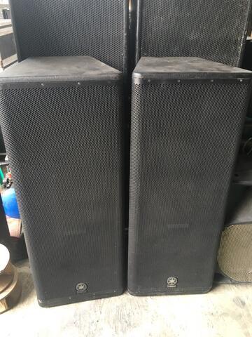 speaker active yamaha dsr 215 original