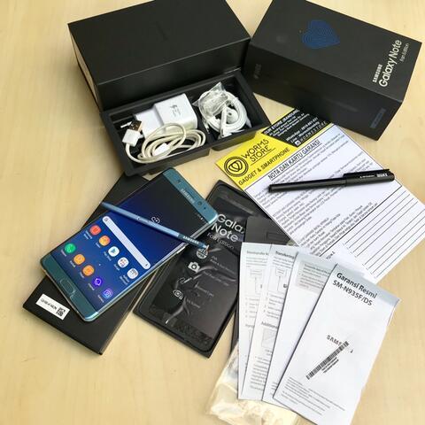 Samsung Note FE DUOS Resmi SEIN Mulus Fullset Bandung