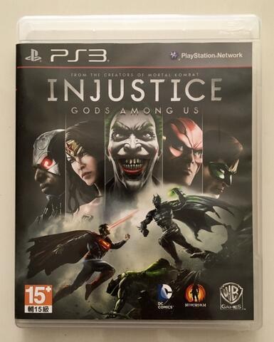 BD Kaset Game PS3 Injustice Gods Among Us