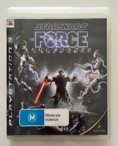 BD Kaset Game PS3 Star Wars The Force Unleashed