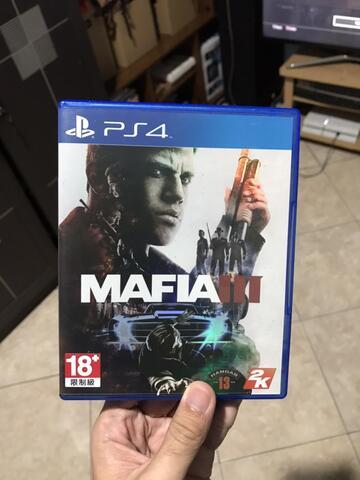 Game BD PS4 Mafia 3 dan Resident Evil 7